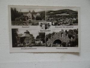 AK Bad Salzschlirf Mehrbildkarte