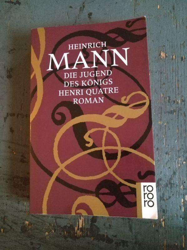 Heinrich Mann: Die Jugend des Königs Henri Quatre - Roman