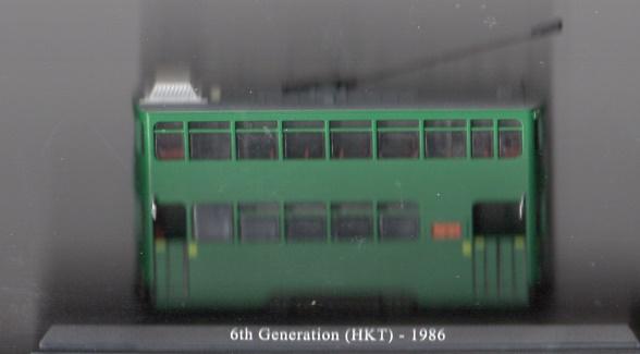 Historisches Strassenbahnmodell