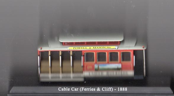 Historisches Srassenbahnmodell