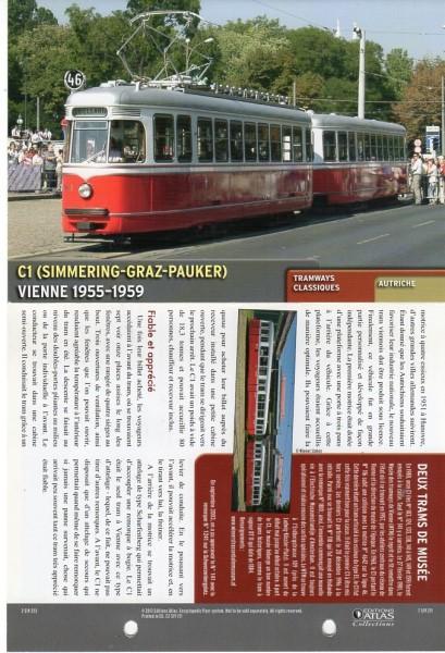 Sehr schönes Strassenbahnmodell aus der Serie Atlas Collection Hier Modell