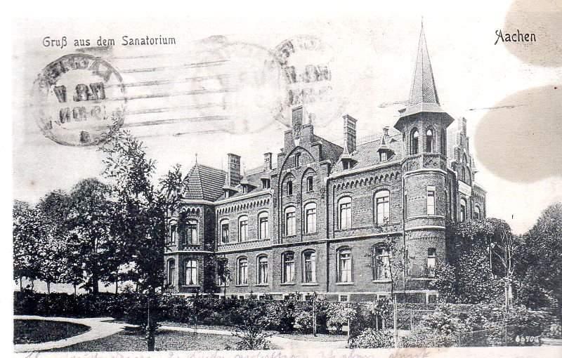 AK Aachen Aachen Sanatorium Krankenhaus