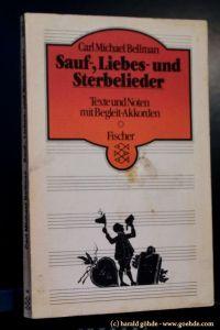 Carl Michael Bellman - Sauf-, Liebes- Und Sterbelieder Texte und Noten mit Begleit-Akkorden