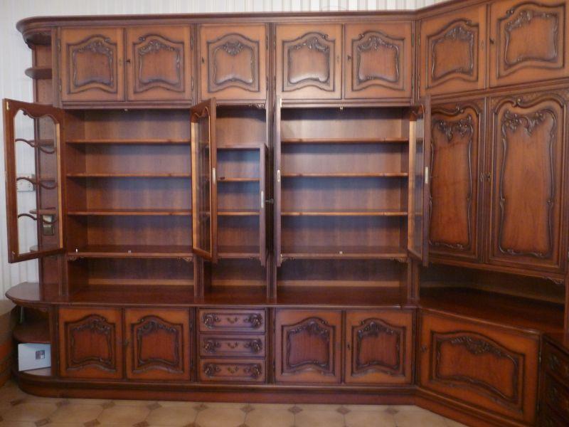 nachgebaute barocke wohnzimmerschrankwand mit sideboard neupreis ca eur. Black Bedroom Furniture Sets. Home Design Ideas