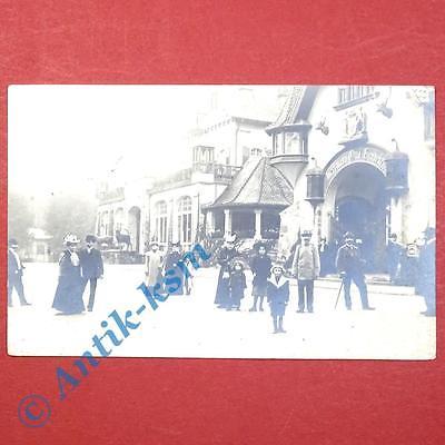 Postkarte Ansichtskarte Berlin , Restaurant Otto Herrmann Hundekehle , gel. 1906 0