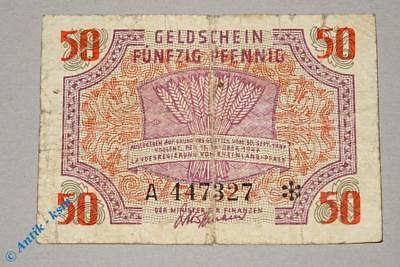 Banknote über 50 Pfennig , Rosenberg 213 , Landesreg. Rheinland Pfalz 1947