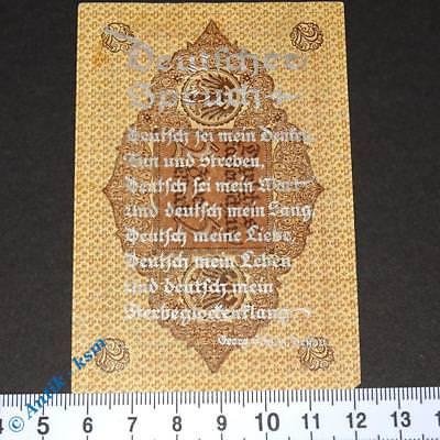Sehr seltener Propagandaschein , deutscher Spruch auf Ros 65 , Silber , kfr/unc