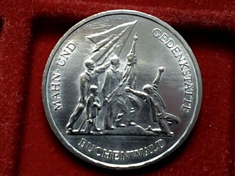 2 X Top Münze Ddr Von 1972 2 X 10 Mark Buchenwald Ss Vz Nr