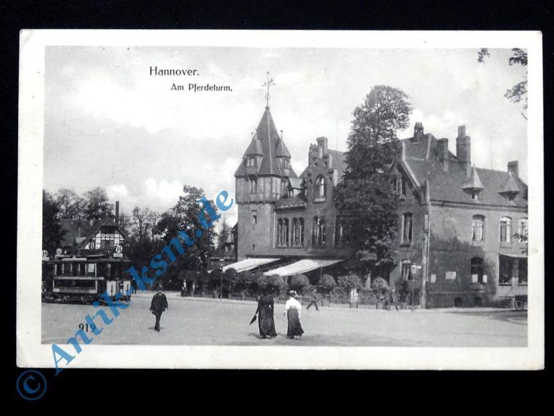 Ansichtskarte Hannover, Motiv: Am Pferdeturm , Feldpost , 1916 gelaufen
