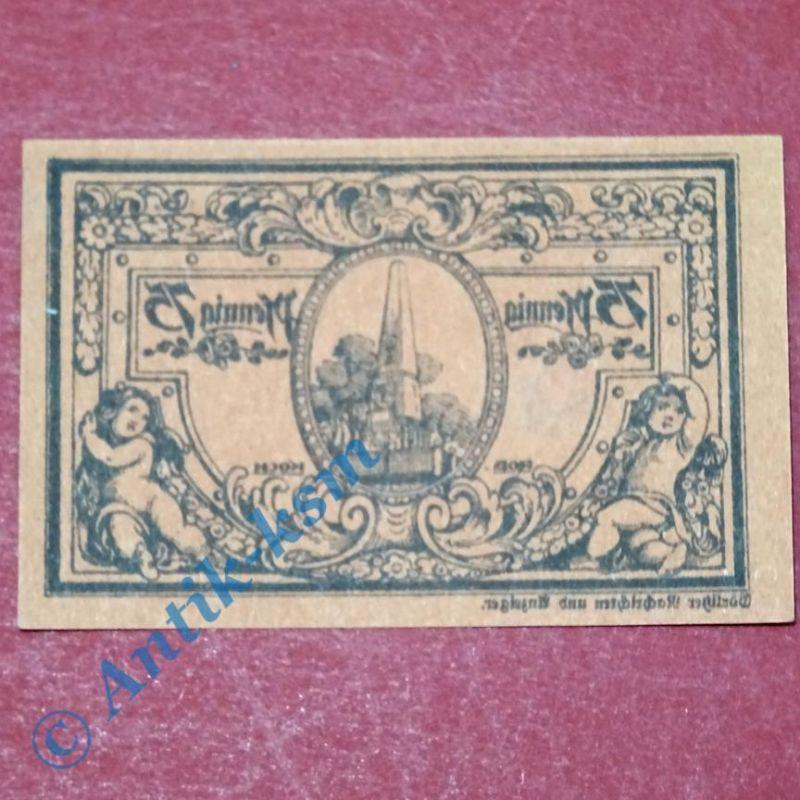 Notgeld Rheinsberg Spiegelv. rotbraun, german emergency money , M/G 1120.3B kfr