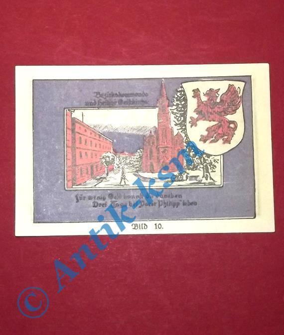 TOP Notgeld Stargard , Kolberger Grenadiere , 1 Mark Bild 10 ,M/G 1254.1 kfr/unc