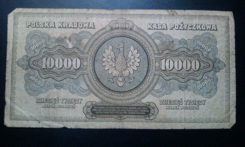 POLSKA / POLEN - 10.000 Marek / Mark Polskich von 1922 -- selten --