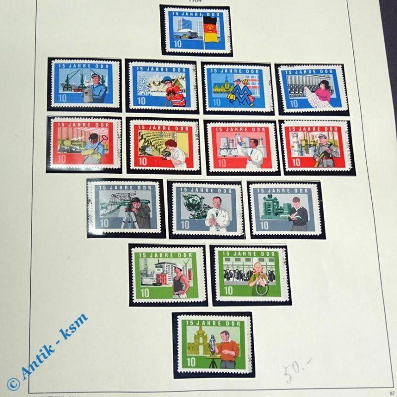 30 Briefmarken DDR 1964 Mi.-Nr. ? , 30 x 10 Pfennig Marken , siehe Detailbilde
