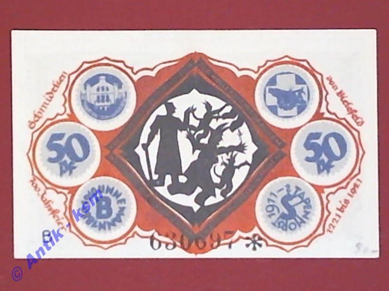 Notgeld Bielefeld , Teufelsgroßmutterschein , german emergency money , M/G 103.5