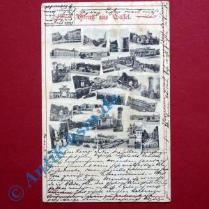 A Postkarte Ansichtskarte Cassel Kassel , Motiv: sehr viele und seltene gel 1904