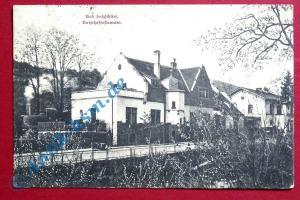 A  Postkarte Ansichtskarte Bad Salzschlirf, Motiv: Bahnhofsrestaurant gel. 1920