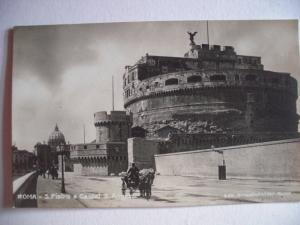 Alte AK Rom San Pietro e Castel San Angelo [68]