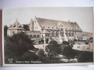 Alte AK Goslar am Harz Kaiserhaus [70]