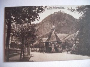 Alte AK Das Siebengebirge Rhöndorf Und Drachenfels um 1926 [71]
