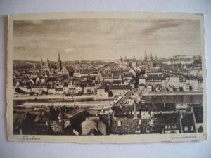Alte AK Würzburg Gesamtansicht [81]