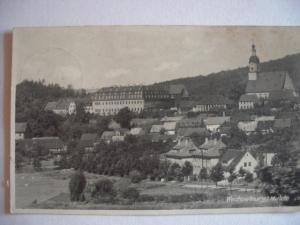 Alte AK Wechselburg Mulde [89]