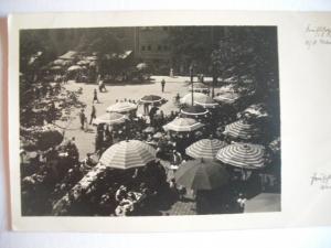 Alte AK Jena Frühschoppen auf dem Markt [93]