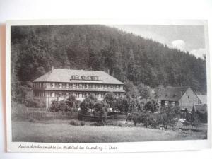 Alte AK Amtsschreibermühle Mühltal Eisenberg Thüringen [96]