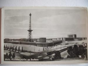Alte AK Berlin Ausstellungshallen am Funkturm [101]