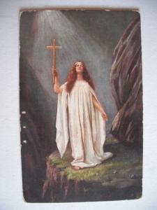 Alte AK Kunstpostkarte Oilette Serie No. 9378 Raphael Tuck & Sons [146]