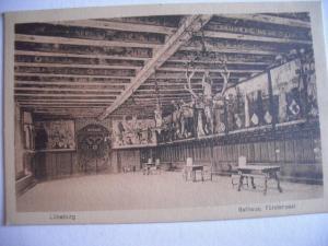 Alte AK Lüneburg Rathaus Fürstensaal [147]