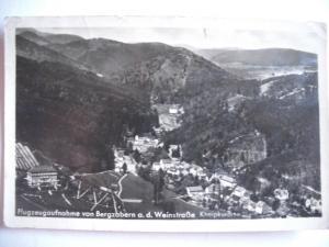 Alte AK Bergzabern Fliegeraufnahme [153]