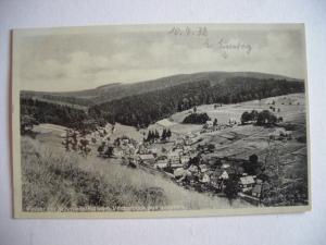 Alte AK Vesser bei Schmiedefeld vom Vesserblick gesehen [156]