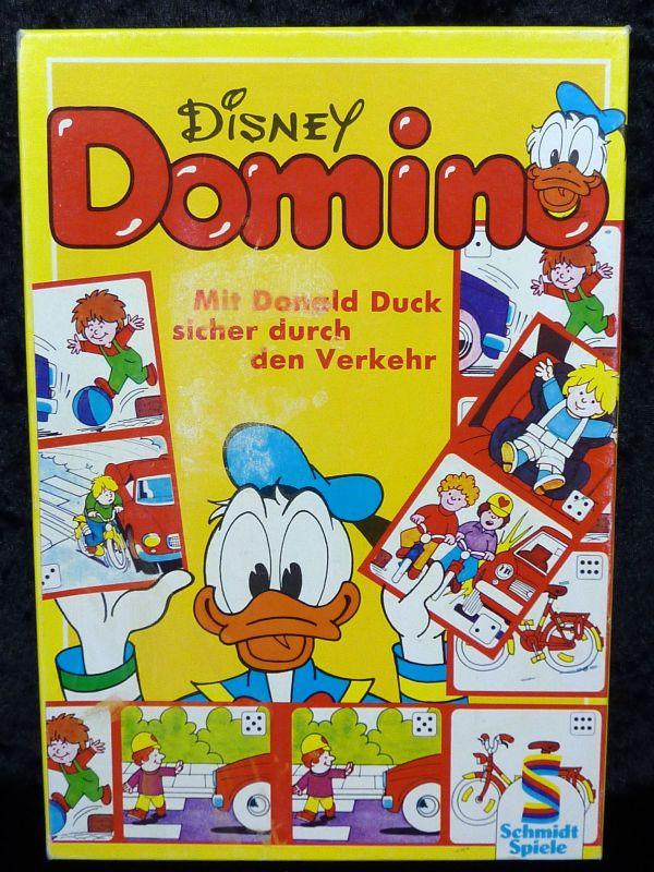 !!! RARITÄT !!! DISNEY Domino – Mit Donald Duck sicher durch den Verkehr