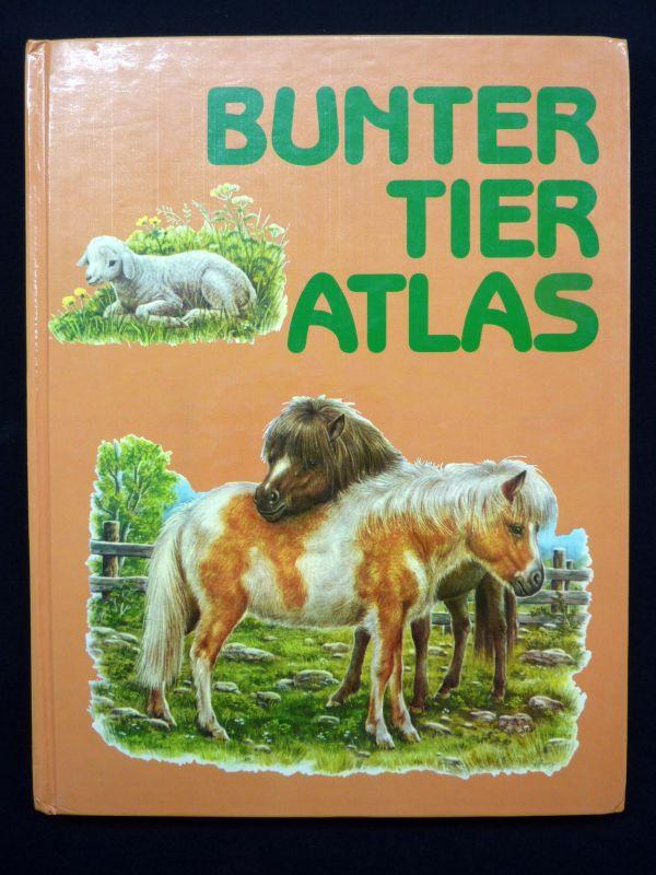 !!! RARITÄT !!!  Ernst W. Bauer & Hermann Fay – Bunter Tier Atlas