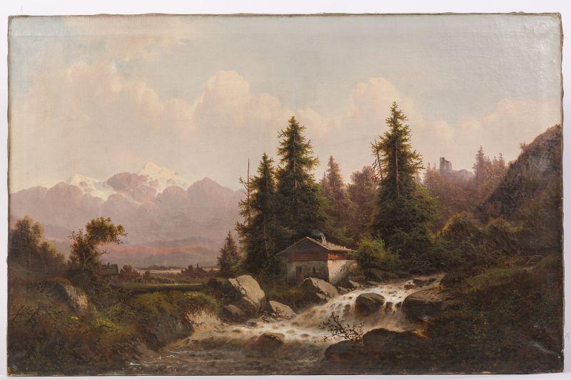 Original Gemälde von C. Lubin um 1900  \\\\\\\\\\\\\\\\\\\\\\\\\\\\\\\