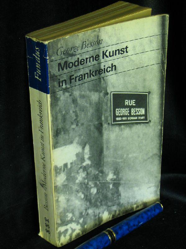 Besson, George: Moderne Kunst in Frankreich. Nr. 70124 - oldthing ...