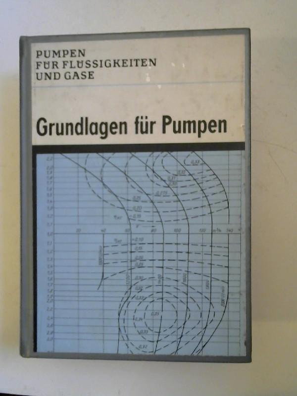 Pohlenz, W.: Grundlagen für Pumpen. [Pumpen für Flüssigkeiten und Gase. Herausgegeben von W. Pohlenz.]