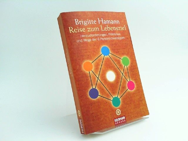 Hamann, Brigitte: Reise zum Lebensziel. Herausforderungen, Potenziale und Wege der 6 Persönlichkeitstypen. [21756 Arkana]