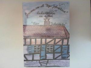 """Backesclub Holzhausen (Hg.): Lukullisches zu allen """"Vier Jahreszeiten"""" - Gouwres zow all """"Vejer Jahreszeire"""". Dieses Buch wurde herausgegeben vom """"Backesclub Holzhausen"""" aus Anlaß des 25-jährigen Bestehens."""