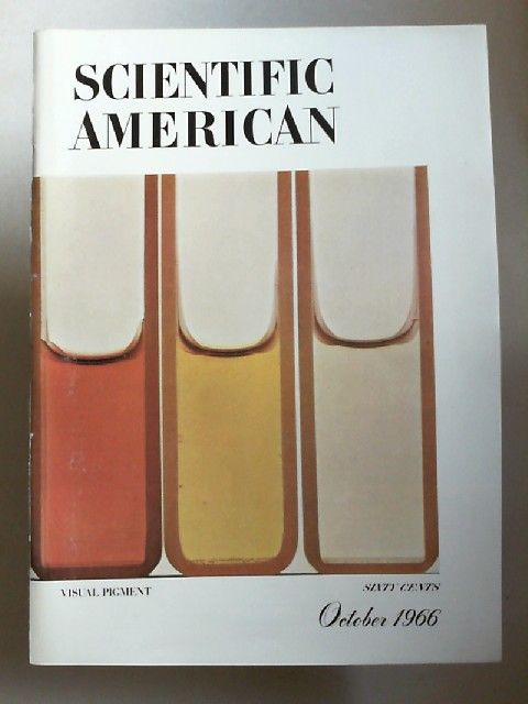 Scientific American: Scientific American Magazine. Oktober 1966. Volume 215. Number 4: Visual Pigment.
