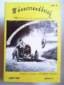 Männer-Medienarchiv (Hg.): Männerrundbrief Nr. 6. April 1995. Männer in Bewegung ... Vorwärts immer... rückwärts nimmer