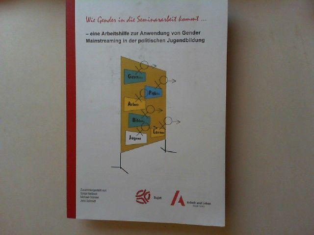 Nielbock, Sonja, Michael Gümbel und Jens Schmidt (Hg.): Wie Gender in die Seminararbeit kommt... -eine Arbeitshilfe zur Anwendung von Gender Mainstreaming in der politischen Jugendbildung.