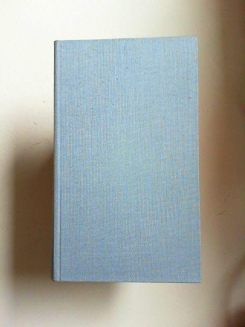 Döblin, Alfred: Autobiographische Schriften und letzte Aufzeichnungen. [Ausgewählte Werke in Einzelbänden.Begründet von Walter Muschg, in Verbindung mit den Söhnen des Dichters.] Der vorliegende Band wurde von Edgar Pässler herausgegeben.