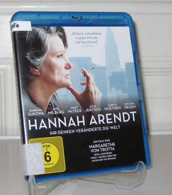 Trotta, Margarethe von: Hannah Arendt. Blu-Ray. Ein Film von Margarethe von Trotta.