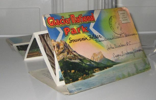Hileman (Photographien): Glacier National Park Souvenir Folder.