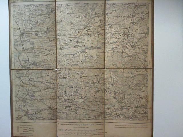 Kartographische Abteilung der königlichen Preussischen Landes-Aufnahme (Hg.): Karte des Deutschen Reiches 22: Tondern. Maßstab 1: 100.000