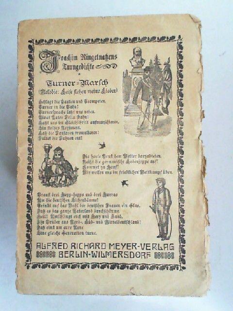 Ringelnatz, Joachim: Turngedichte.