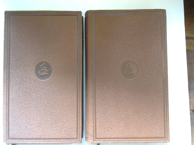 Sachsen, Hans: 2 Bücher zusammen - 1) Hans Sachsens Gedichte; 2) Hans Sachsens Dramen. [Hans Sachsens ausgewählte Werke. Erster und zweiter Band]