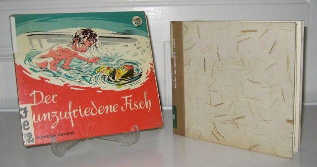 Bomans, Godfried: 2 Bände: Der unzufriedene Fisch. Bilder von Jaap Pander. / Das verliebte Zebra. Bilder von Jan Emmink. Deutsch von Jutta Knust.
