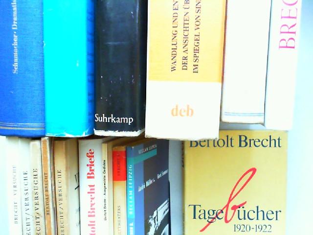 Brecht, Bertolt, Werner Mittenzwei; Ernst Schumacher; Peter Huchel (Red.); Henning Rischbieter; André Müller; Gerd Semmer; Walter Jens (Nachwort); Hanne Hiob (Hg.); Günter Glaeser (Red.); Ruth Berlau; Hans Bunge (Hg.); Deutsche Akademie der Künste (Hg....